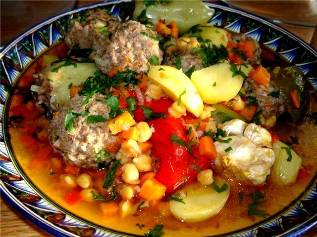 Рецепт киргизской кухни с фото